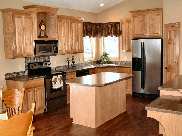 New single family homes and custom remodeling by woodcrest for Nice kitchen pictures
